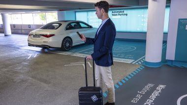 Automated Valet Parking: il pick-up dell'auto all'aeroporto