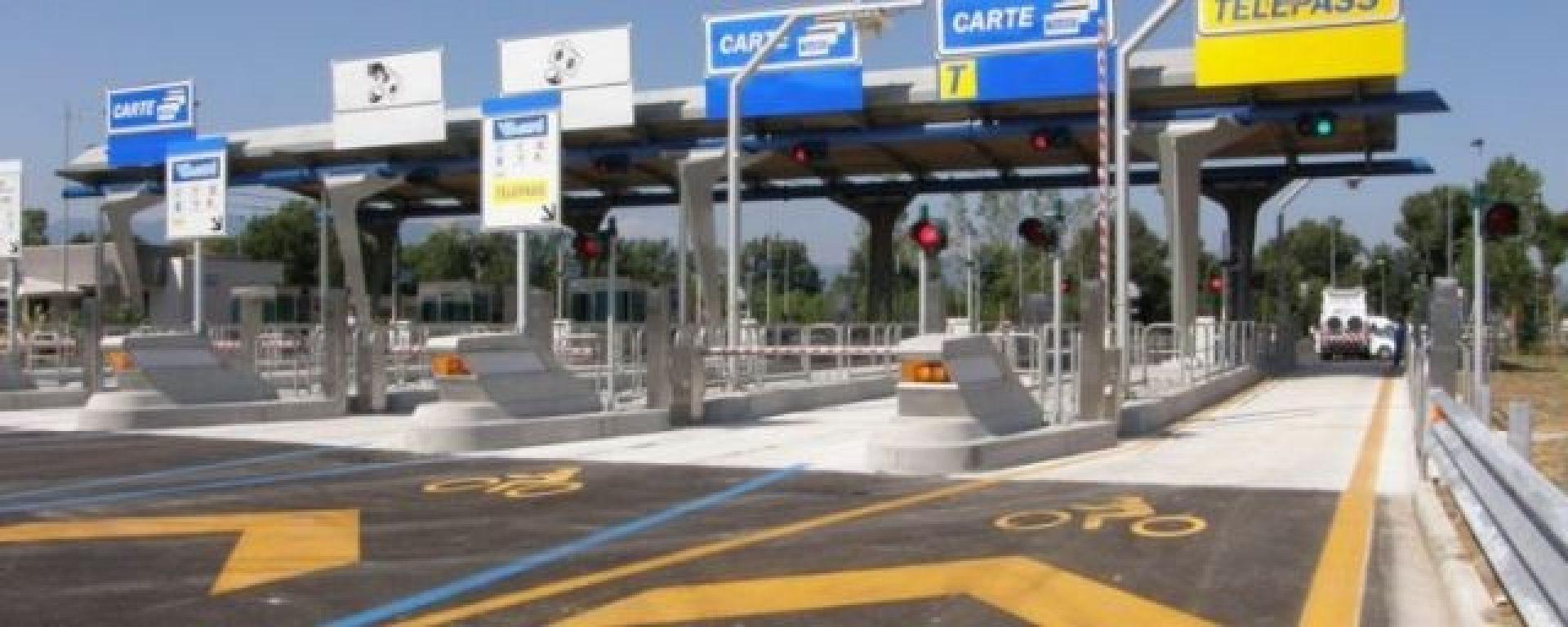 Autostrade: pedaggio scontato del 30% per le moto con telepass