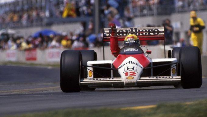 Ayrton Senna - GP Canada F1