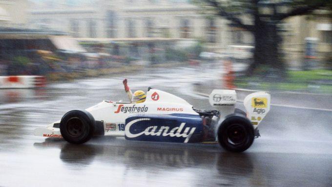 Ayrton Senna secondo al GP di Monaco 1984