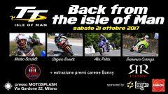 Ciapa La Moto Back From The Isle Of Man: data, prezzo, orari, piloti