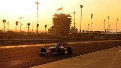 Bahrain International Circuit - al tramonto