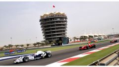 Bahrain International Circuit - monoposto in azione