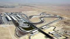 Bahrain International Circuit - vista aerea