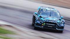 Bakkerud al Rallycross di Holjes