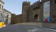 Baku City Circuit - castello