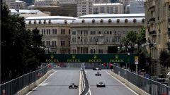 Baku City Circuit - centro storico