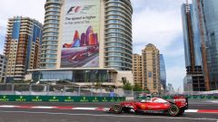 Baku City Circuit - in rettilineo