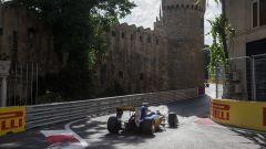 Baku City Circuit - salita al castello (2)