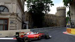 Baku City Circuit - salita al castello