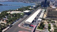 Baku City Circuit - vista aerea