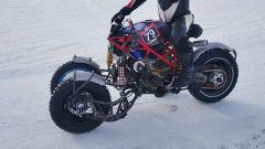 Balamutti Yondu: la Ducati Hypermotard a tre ruote