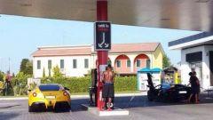 Balotelli: a 200 km/h in A4 sulla Ferrari, multato