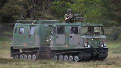 Bandvagn 206: veicolo cingolato prodotto su licenza da Kia
