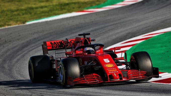 Barcellona F1Testing, day-3, Sebastian Vettel (Ferrari)
