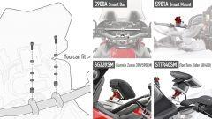 Barra supporto navigatore GIVI per Honda CRF1000L Africa Twin