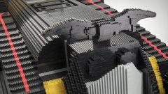 Batmobile di Lego: il logo di Batman