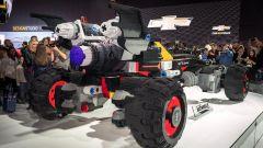 Batmobile di Lego: il peso è di 768 kg