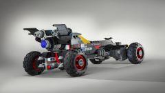 Batmobile di Lego: l'auto si ispira a quella che affiancherà Batman nel prossimo film della Lego