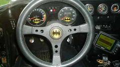 Batmobile, gli interni