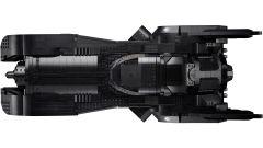 Batmobile LEGO: visuale dall'alto