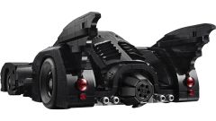 Batmobile LEGO: visuale di 3/4 posteriore