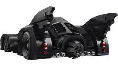 Batmobile LEGO: visuale di 3/4 posteriore