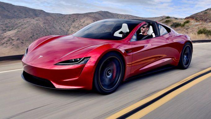 Battlebox Tesla Rimac: la Roadster americana