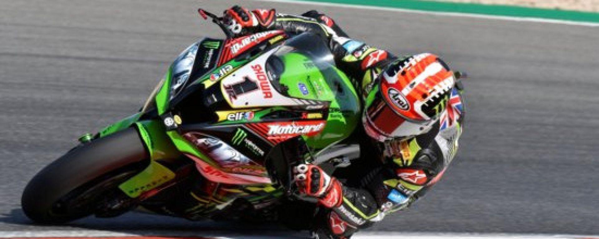 Bautista in pista a Portimao sulla Kawasaki