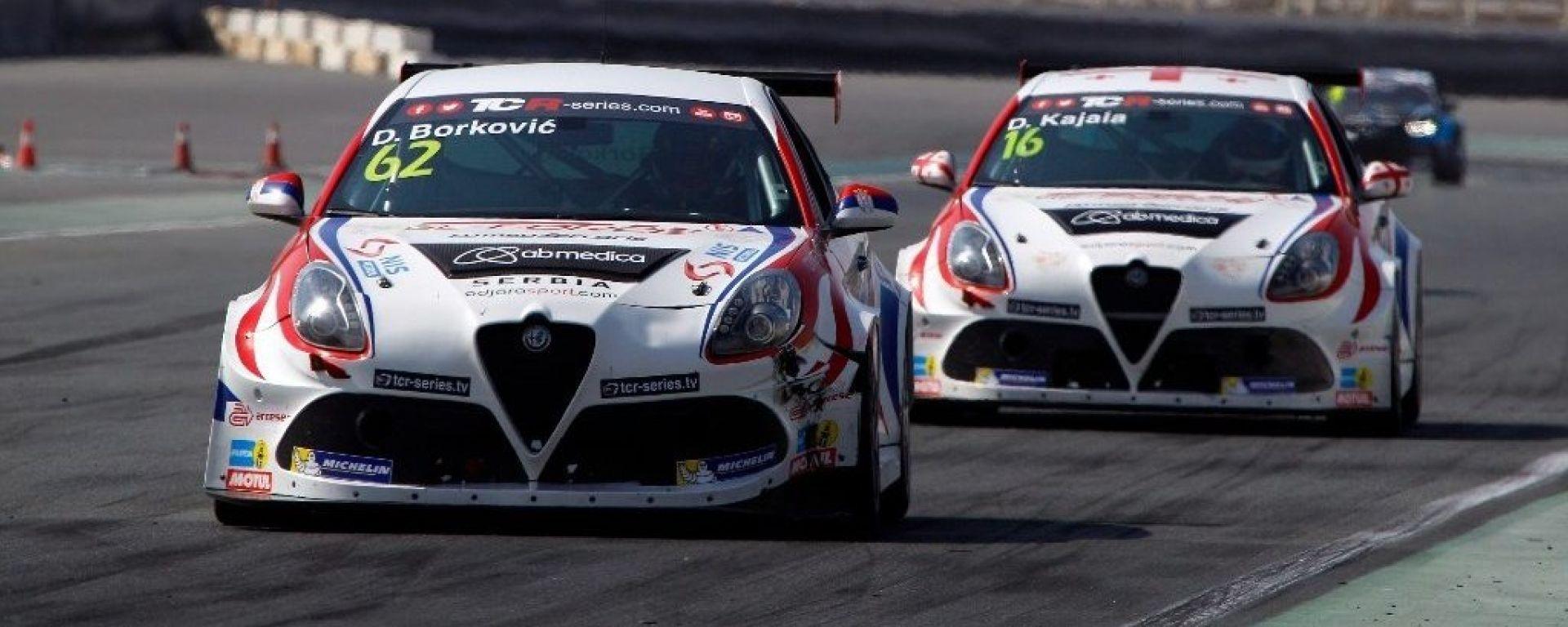Ben due Alfa Romeo del Team Mulsanne saranno al WTCR 2019