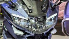 Benelli 1200 GT: il faro anteriore con luci a LED