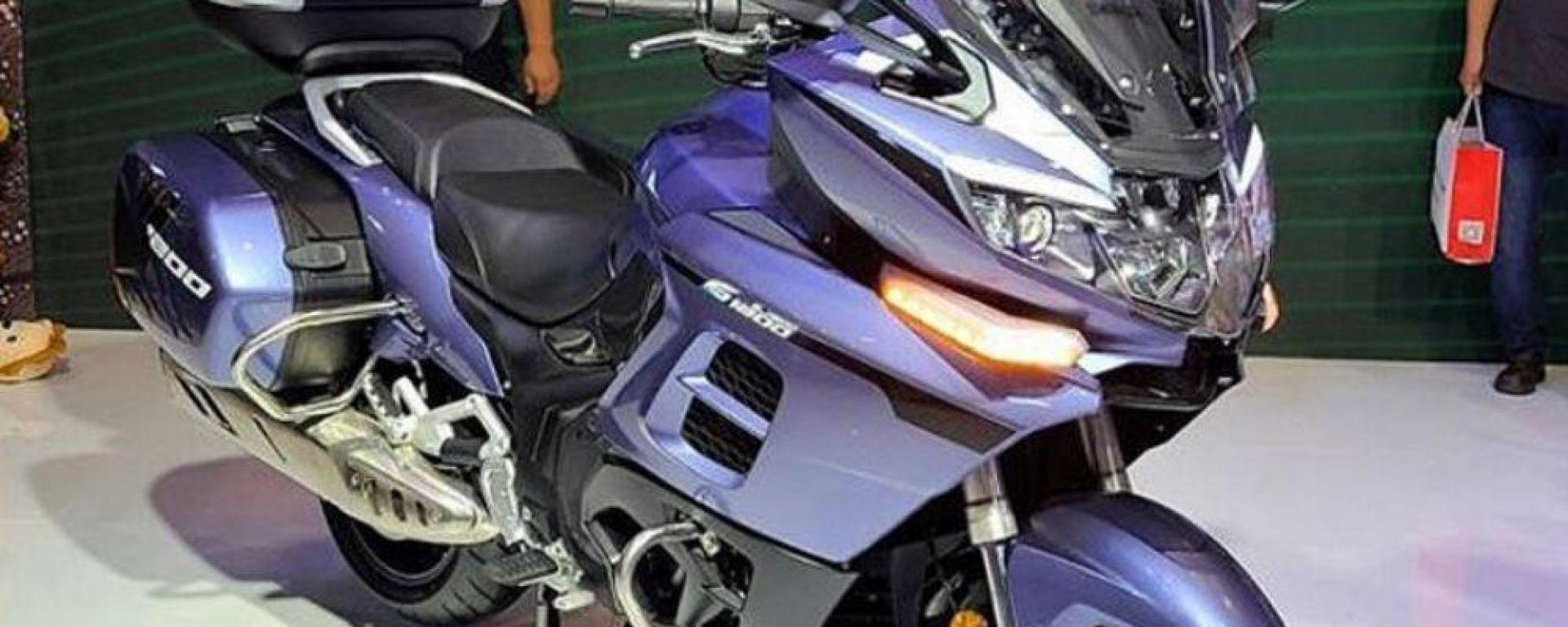Benelli 1200 GT: presentata in Cina la Tourer