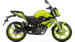 Benelli BN125 2021: la colorazione verde è in serie limitata