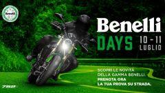 Benelli Days 2020: il 10 e l'11 luglio la due giorni di porte aperte