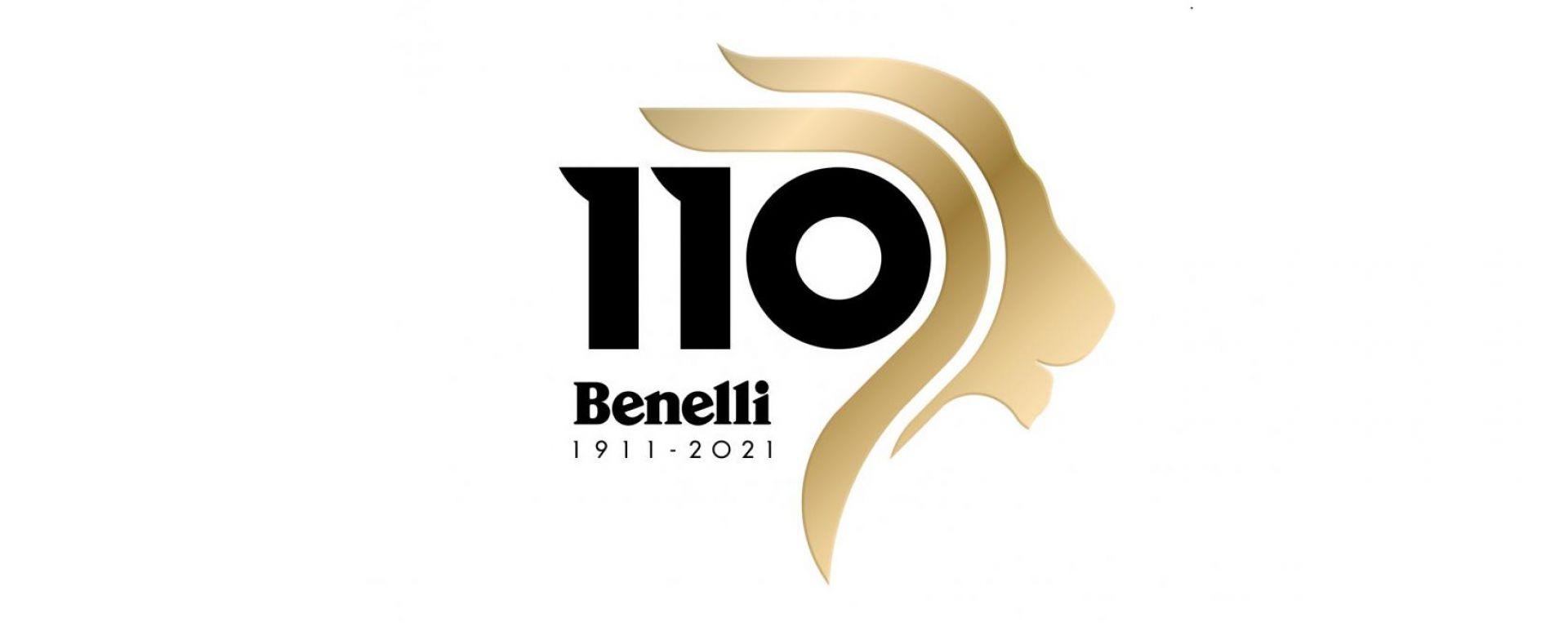 Benelli: il logo celebrativo per i 110 anni della casa di Pesaro
