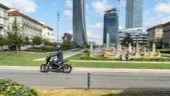 Benelli Leoncino 250 in prova a Citylife