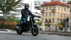 Benelli Leoncino 250: un momento del test ride