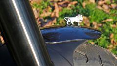 Benelli Leoncino 500, il leoncino fa bella mostra di se sul parafango anteriore
