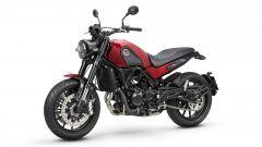 Benelli Leoncino 500 in rosso