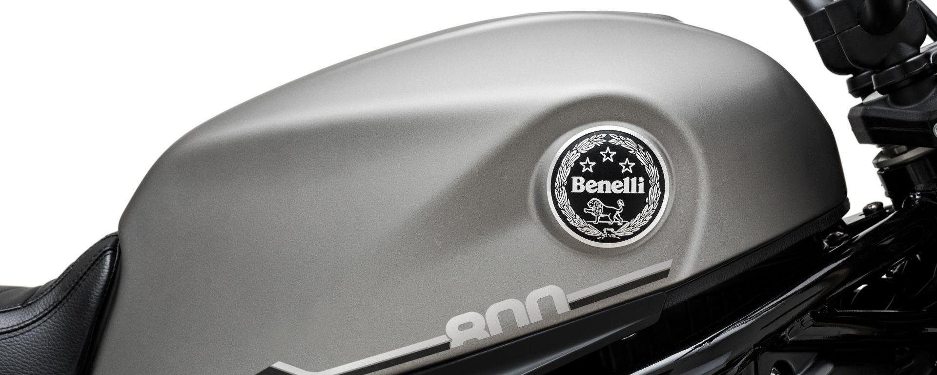 Benelli Leoncino 800 2021: il nuovo serbatoio