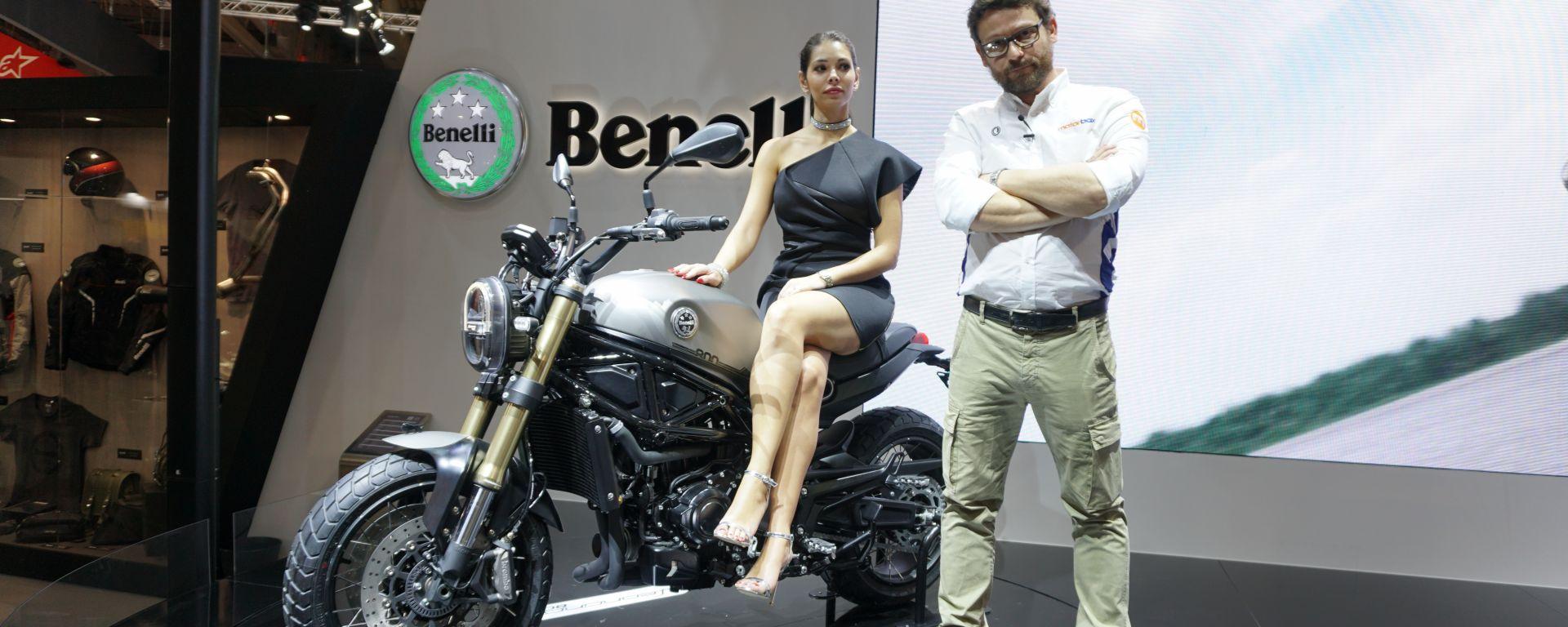 Benelli Leoncino 800 a Eicma 2019