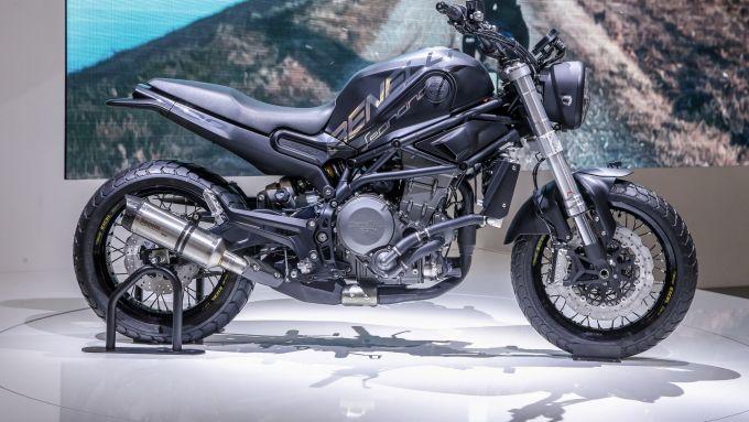 Benelli Leoncino 800 Concept, Eicma 2018