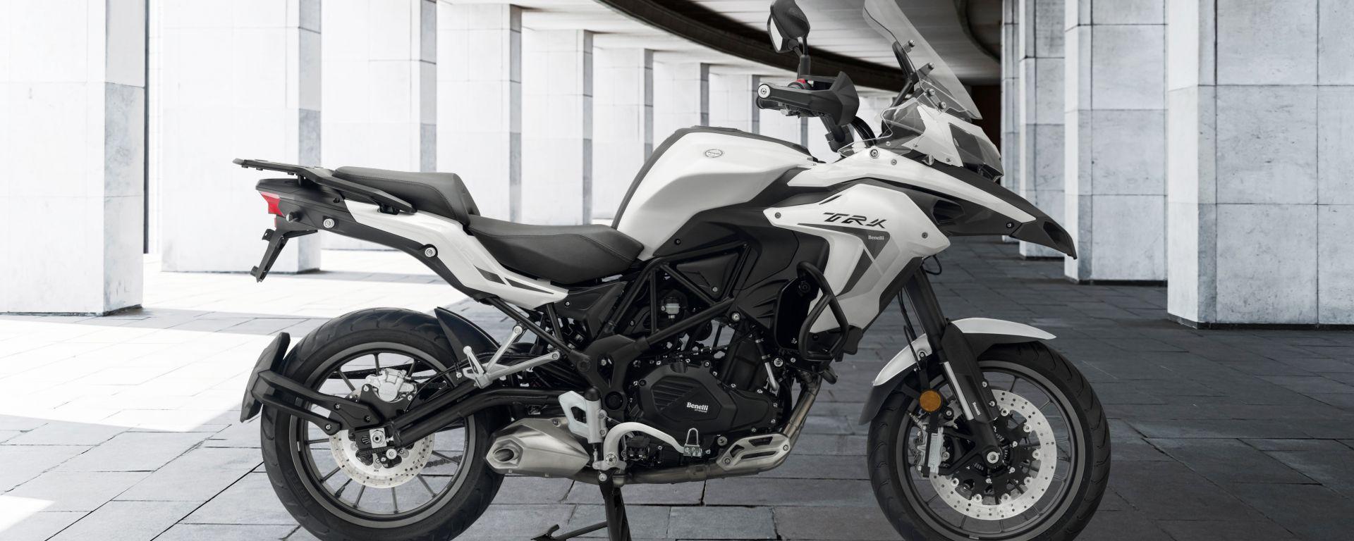 Benelli presenta le nuove TRK 502