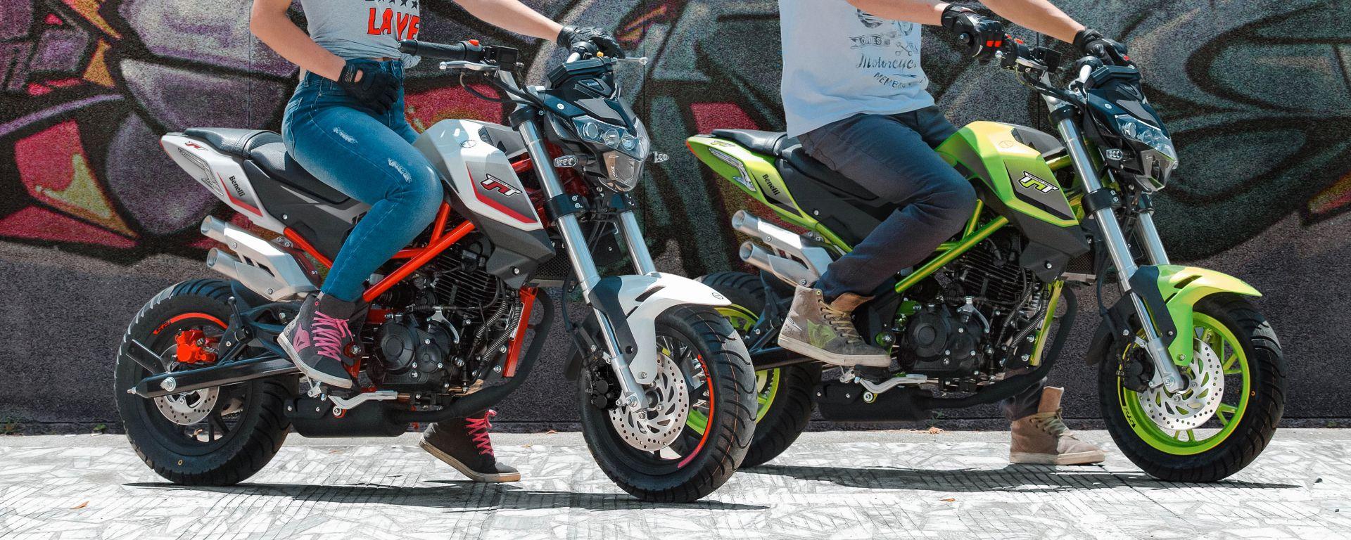 Benelli Tornado Naked T 125 model year 2020