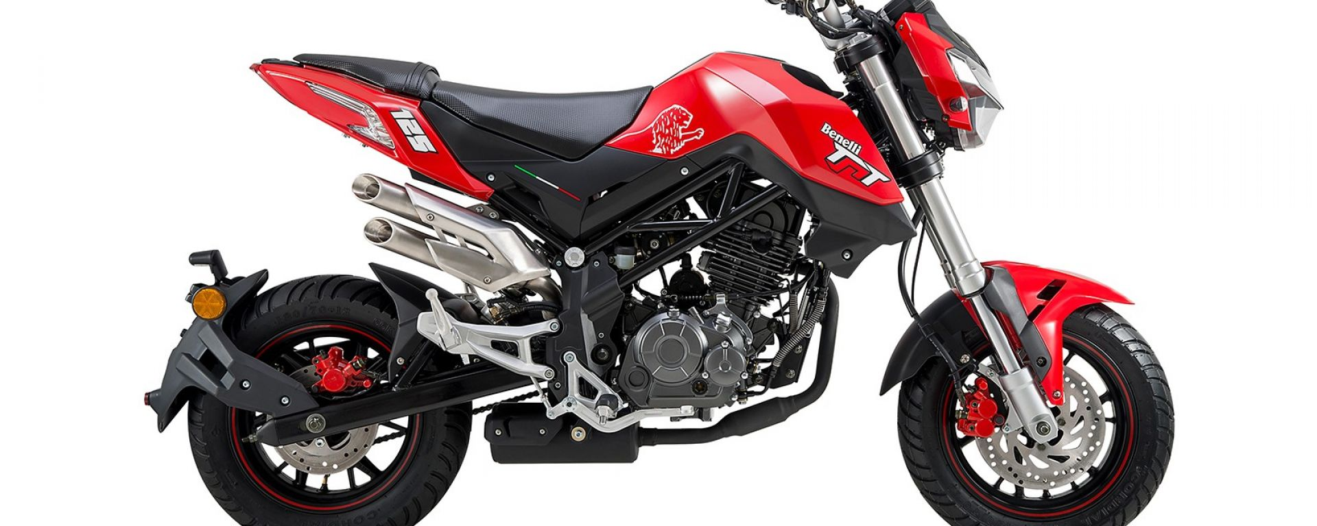 Benelli Tornado Naked T 125 rosso