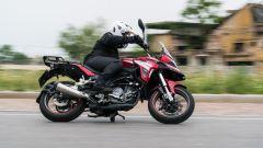 Benelli TRK 251, il test ride