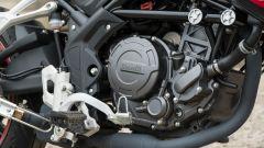 Benelli TRK 251: dettaglio del monocilindrico da 251 cc