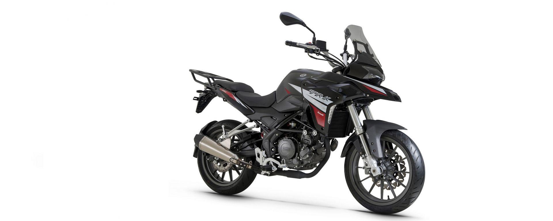 Benelli TRK 251: il motore è un monocilindrico da 250 cc