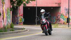 Benelli TRK 251: la protezione all'aria è sufficiente ma migliorabile