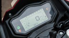 Benelli TRK 251: la strumentazione LCD